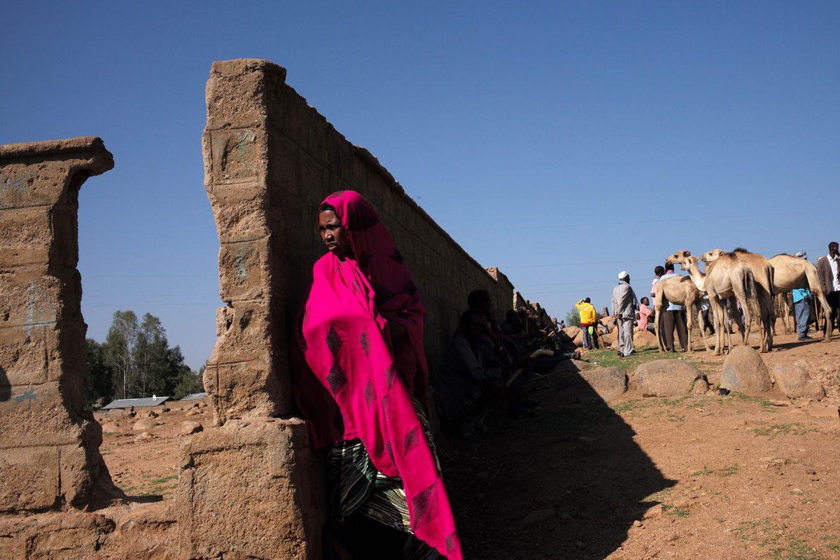 Ethiopia woman Marika Poquet street photography