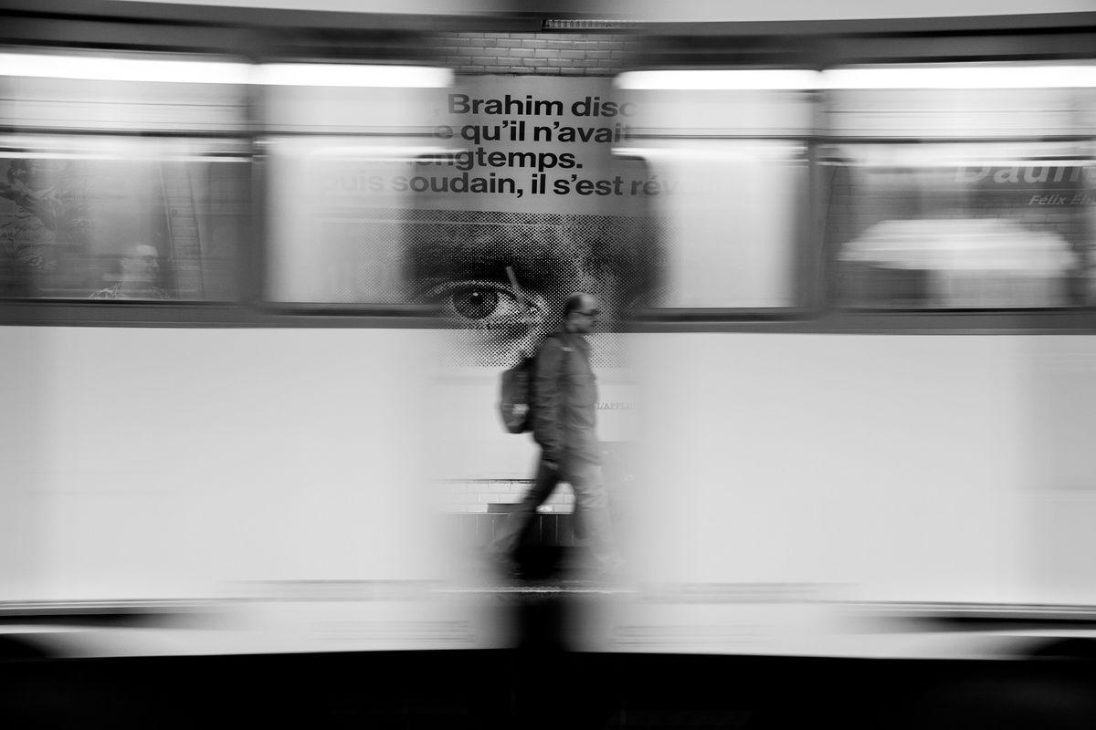 SEBASTIEN DURAND 2 Street Photography Subway Travel Companions