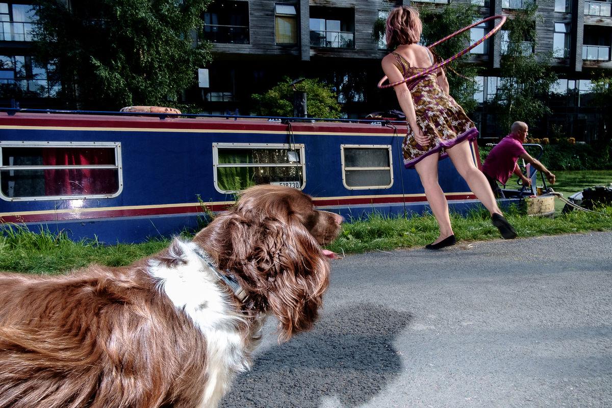 4 Spyros Papaspyropoulos Doggie Hula Hoop London Hackney Wick 2017 Eyeshot