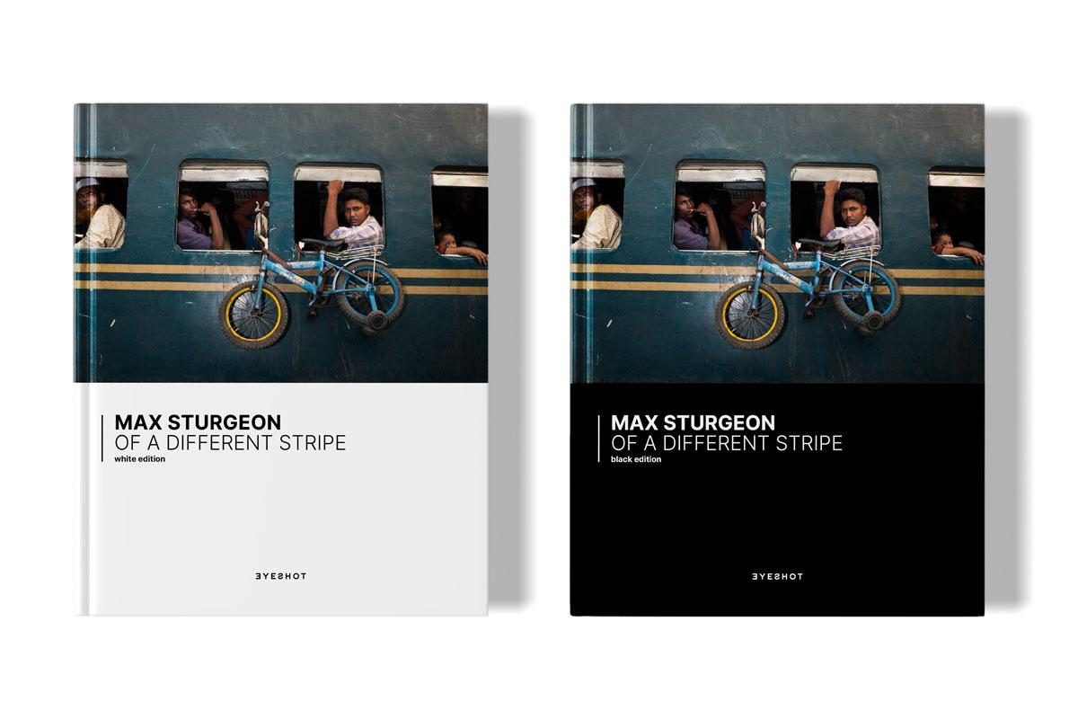 Max Sturgeon Front Cover Black White Edition